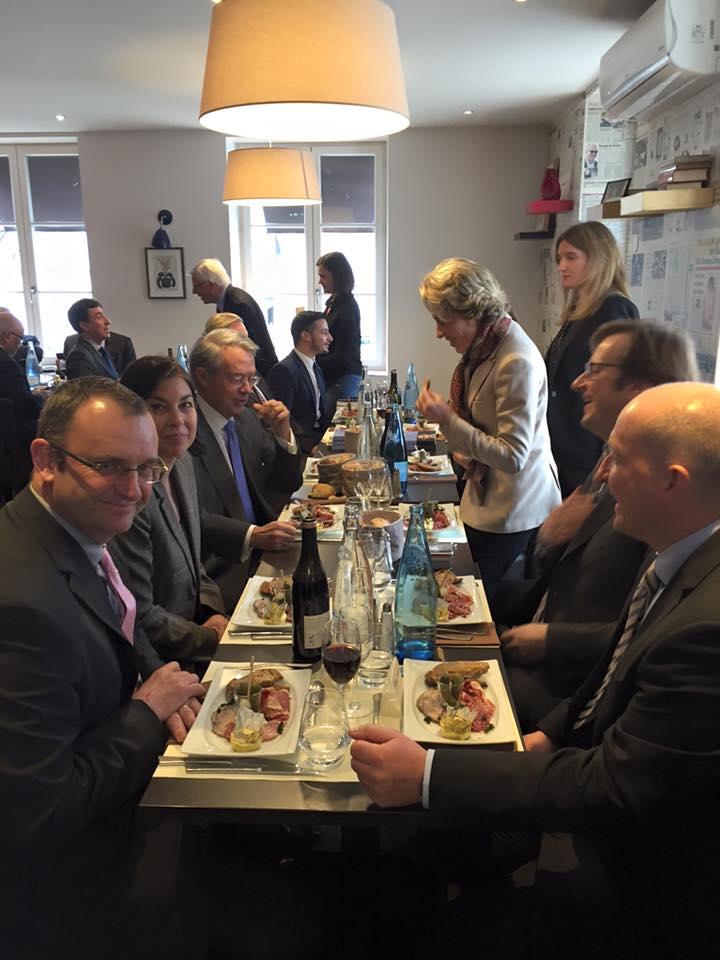 Déjeuner débat avec Nicolas Sarkozy 2