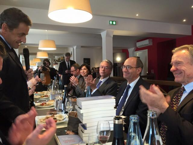 Déjeuner débat avec Nicolas Sarkozy 1