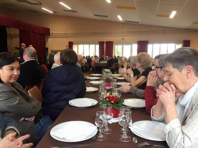 Déjeuner des aînés à Maignelay-Montigny