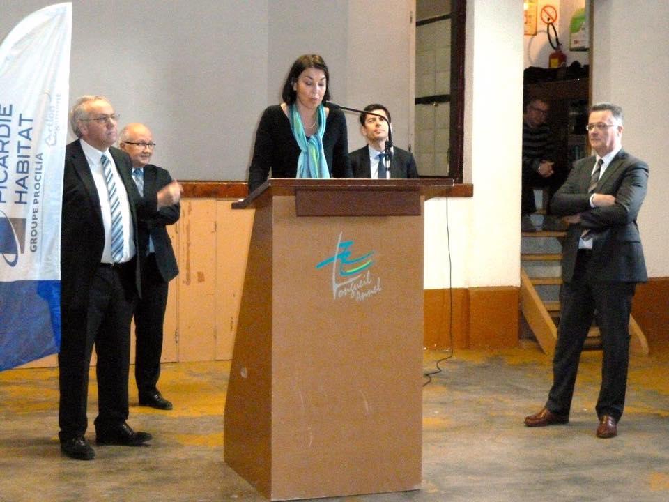 Inauguration de la résidence Jean Moulin 2