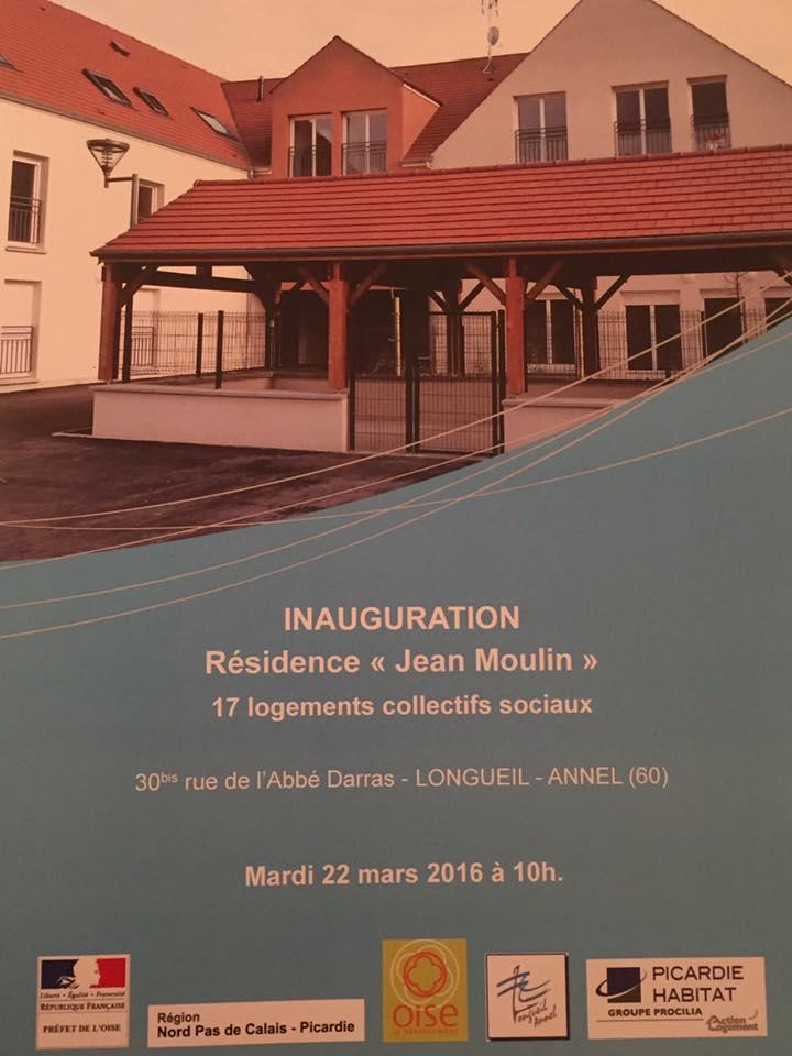 Inauguration de la résidence Jean Moulin 3