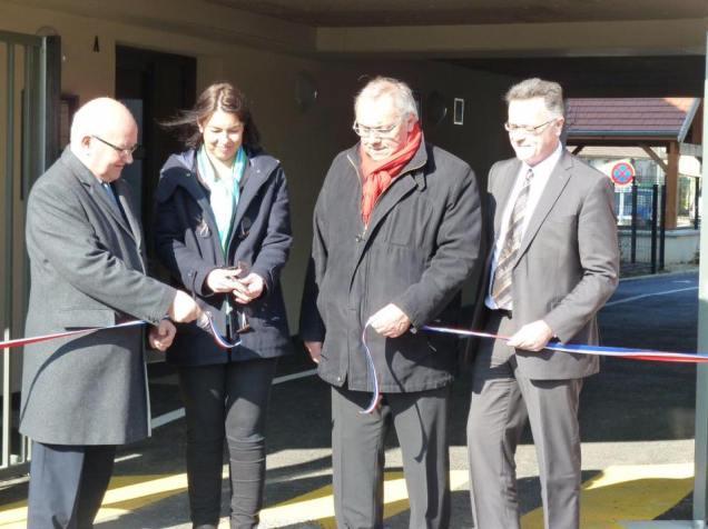 Inauguration de la résidence Jean Moulin