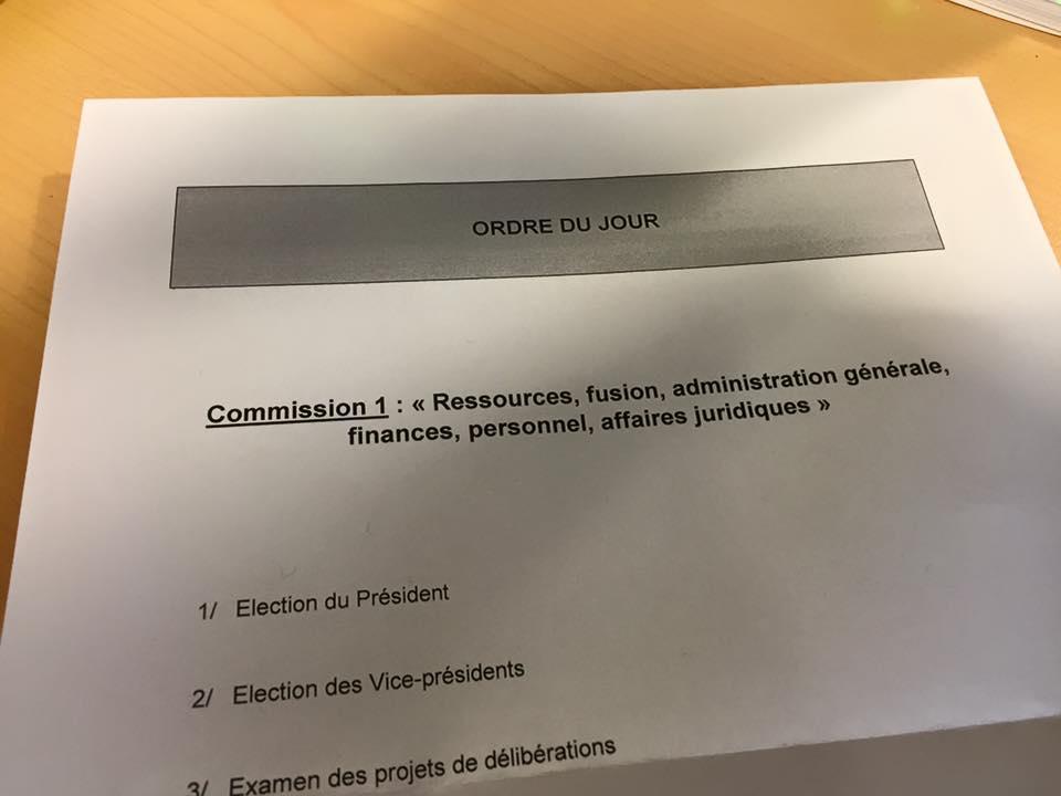 Première Vice-présidente de la commission des finances du Conseil Régional