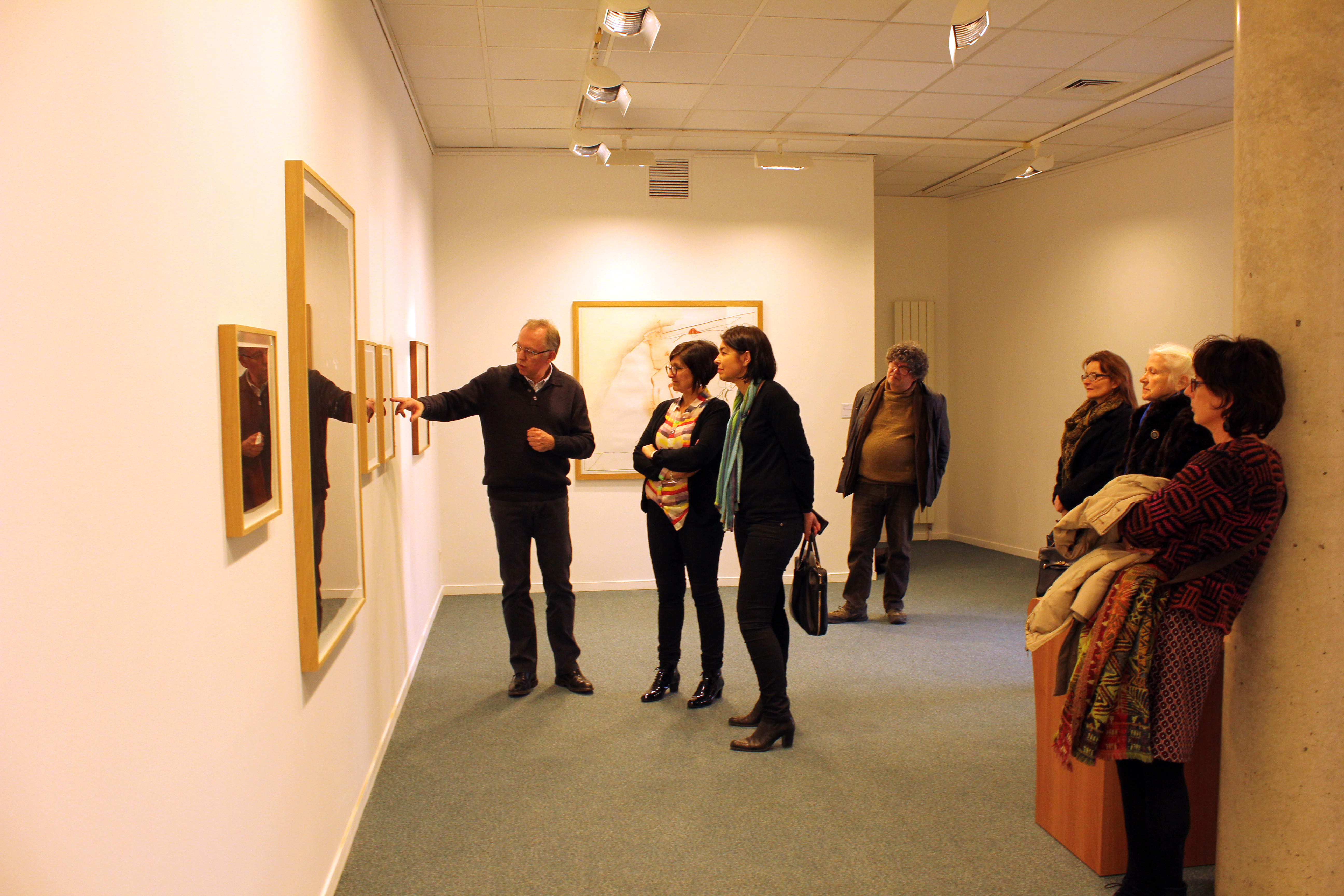 Vernissage de l'exposition du Frac à Noyon 1
