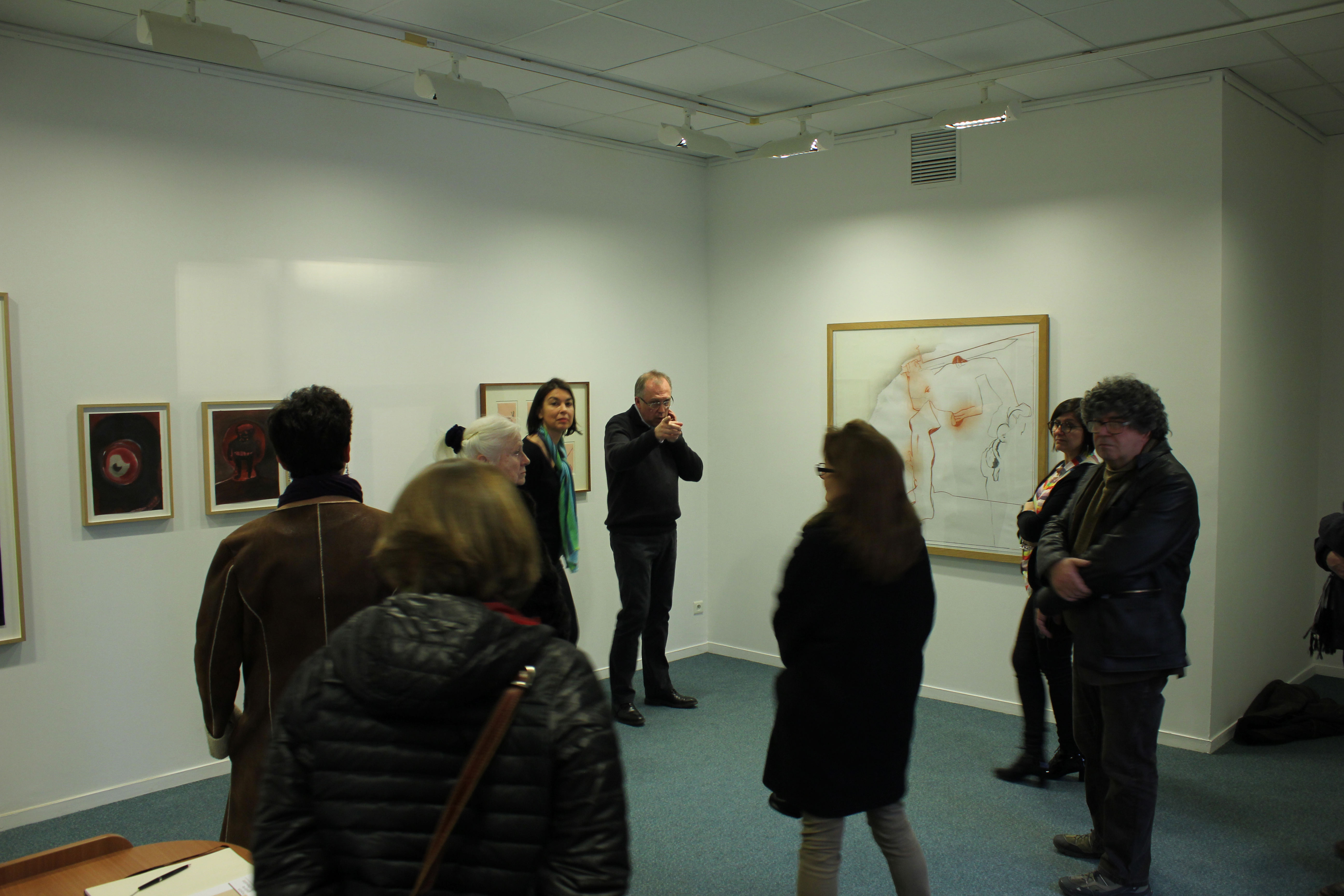 Vernissage de l'exposition du Frac à Noyon 3