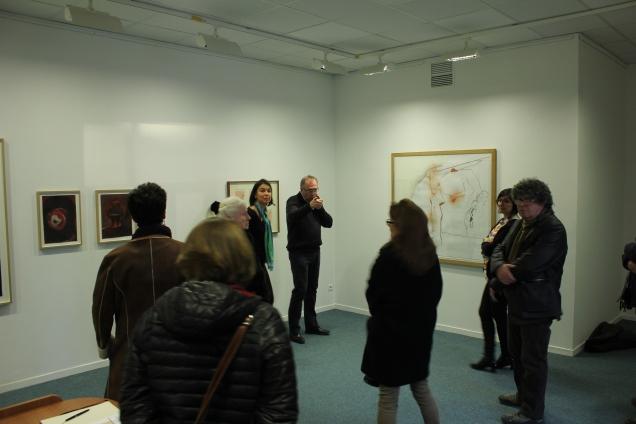 Vernissage de l'exposition du Frac à Noyon 3