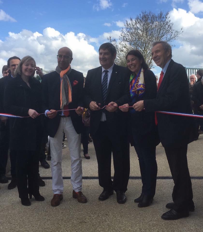 A l'inauguration de la maison des associations sportives de Grandfresnoy 3