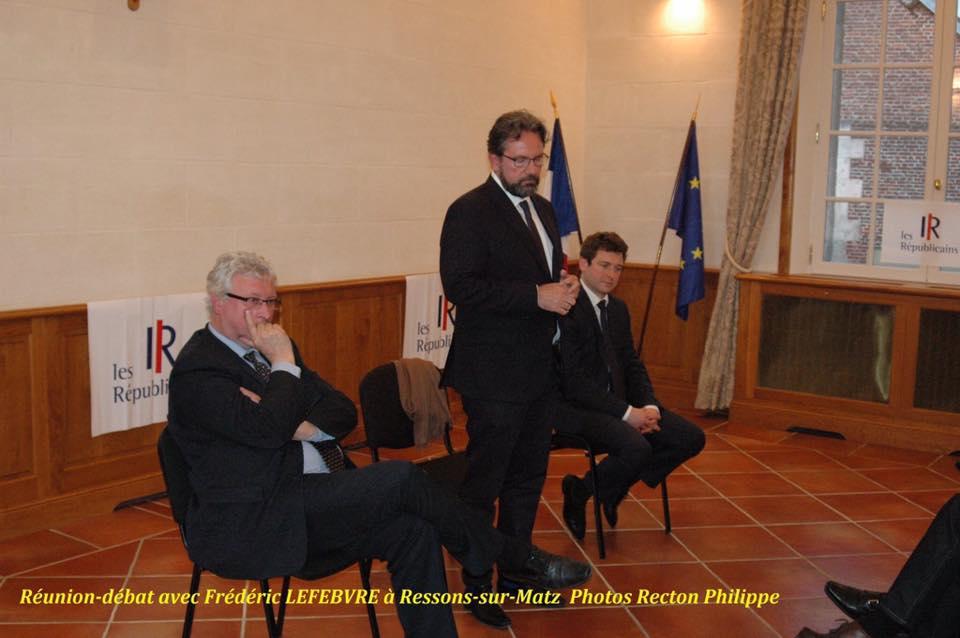 Réunion débat avec Frédéric Lefebvre 1