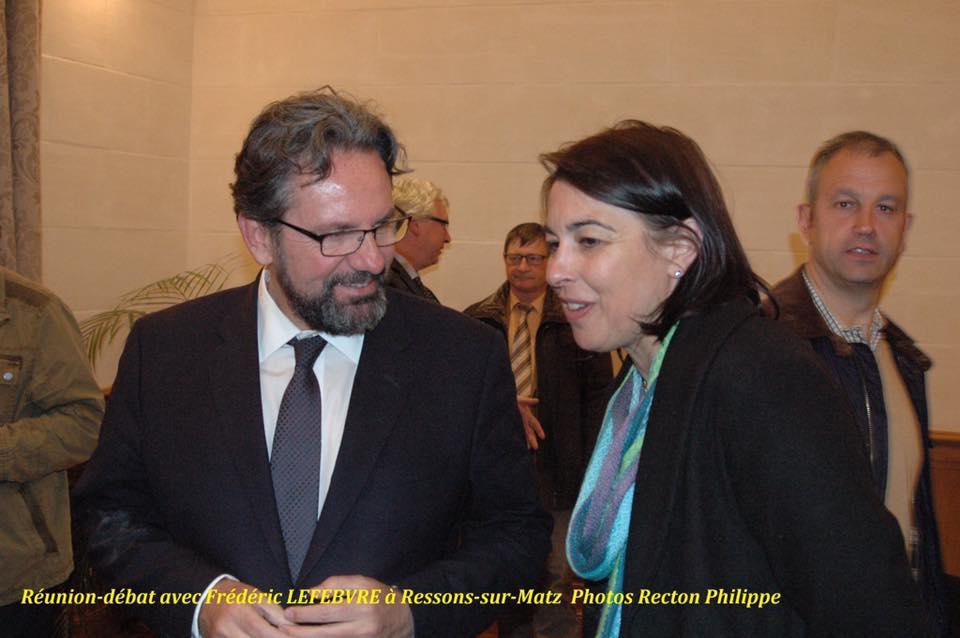 Réunion débat avec Frédéric Lefebvre 2