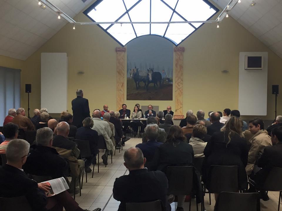 A la réunion publique d'Olivier Dassault à Rochy-Condé !