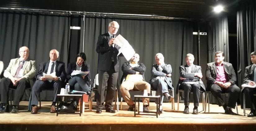 A la réunion publique sur le canal Seine Nord à Noyon 3