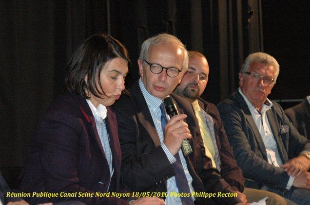 A la réunion publique sur le canal Seine Nord à Noyon 4