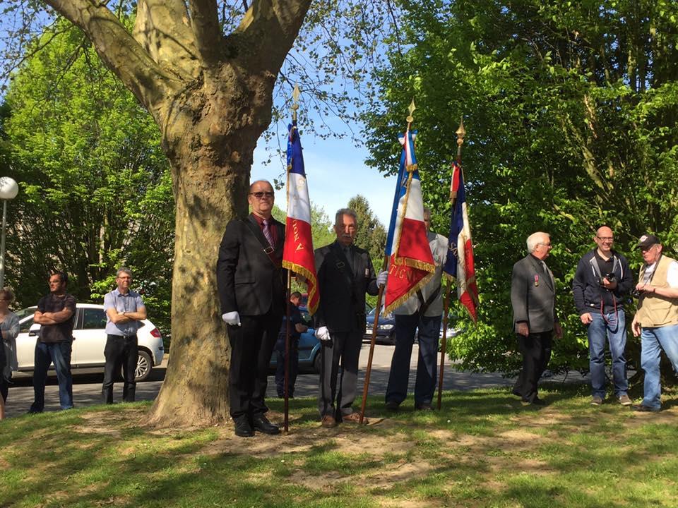 Au Commémoration au 8 mai à Maignelay-Montigny 1