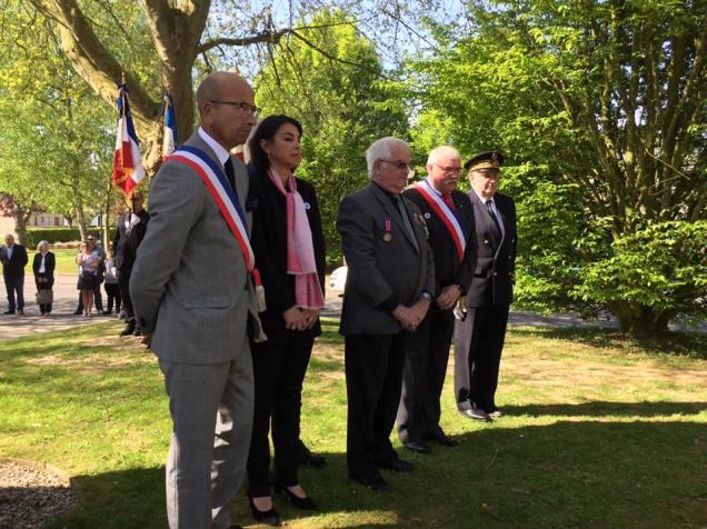 Au Commémoration au 8 mai à Maignelay-Montigny