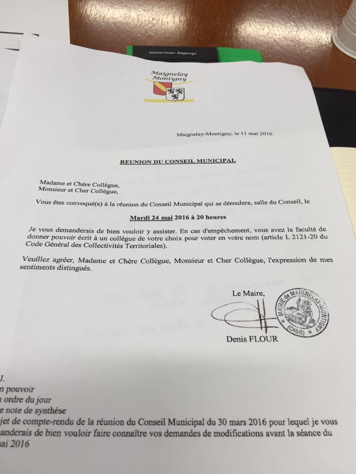 Au conseil municipal de Maignelay-Montigny