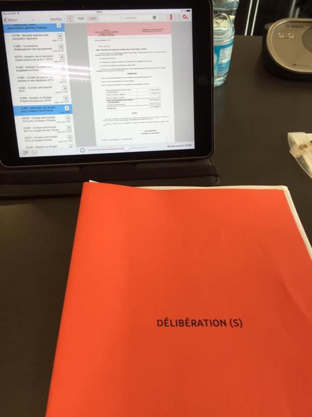Examen du budget primitif 2016 de la Région Hauts-de-France 1