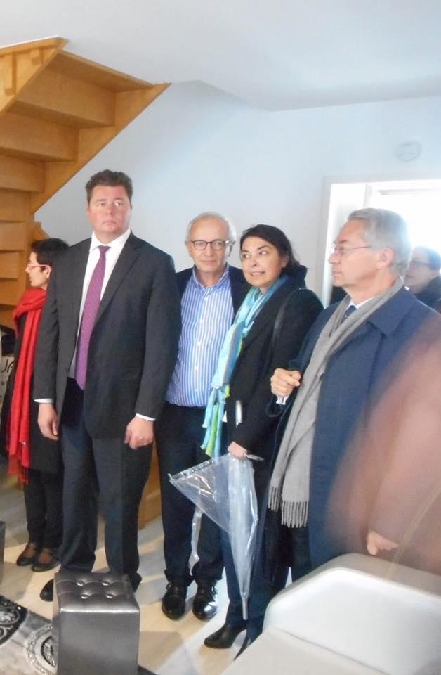 Inauguration avec Edouard Courtial, Président du Conseil Départemental de l'Oise 1