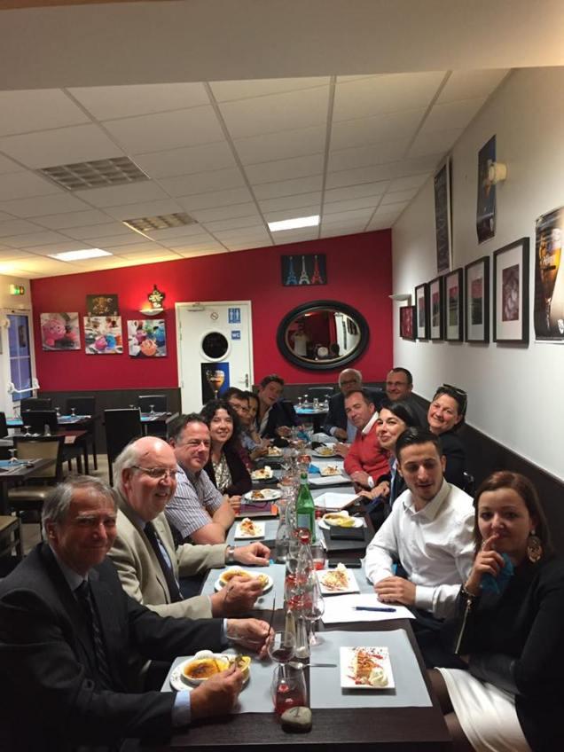 Séance de travail avec les élus régionnaux de l'Oise