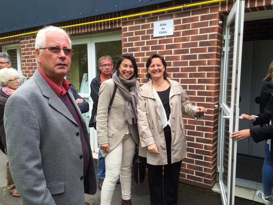 Visite au lycée Julie Billiart à Orvillers-Sorel