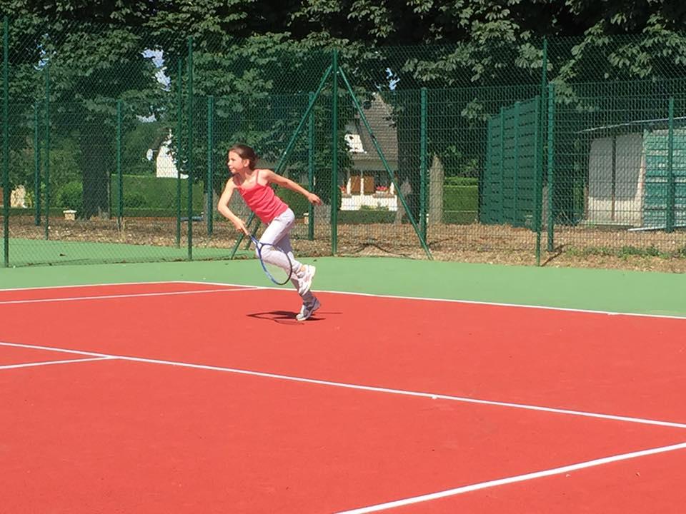 A la fête du tennis à Tricot