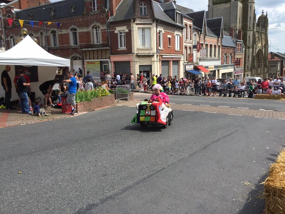 Course de mini-voiture à Montdidier 2