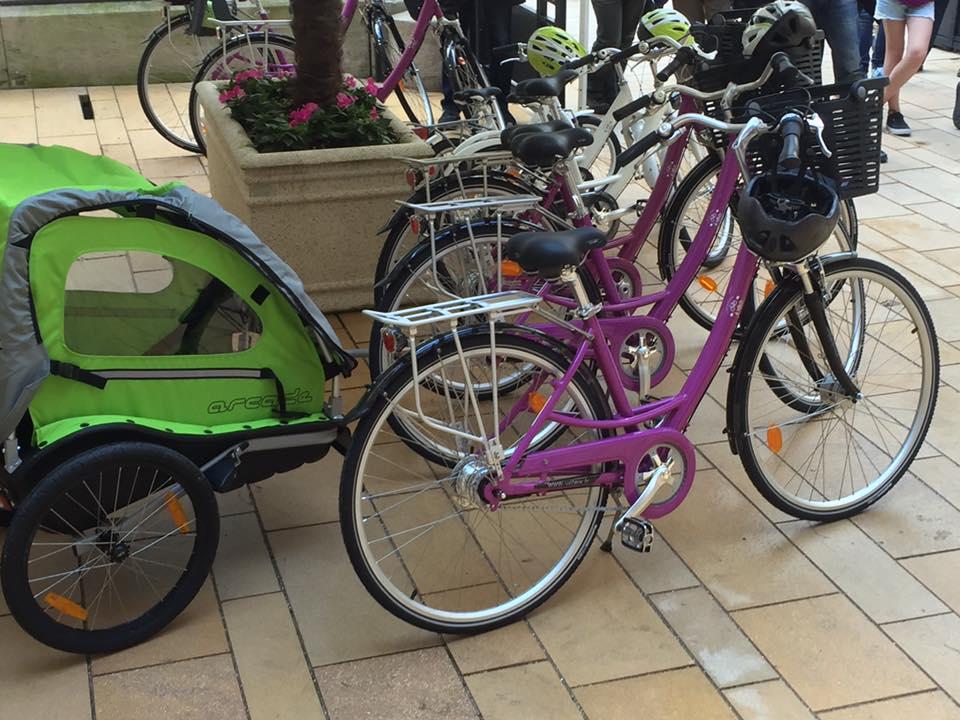 Inauguration du vélo tourisme à Noyon 2