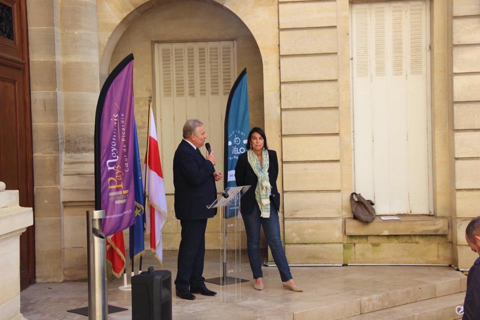 Inauguration du vélo tourisme à Noyon 3
