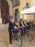 Inauguration du vélo tourisme à Noyon