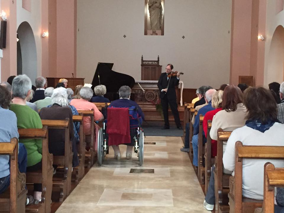 LA pianiste Sophia Vaillant en visite en Picardie 2