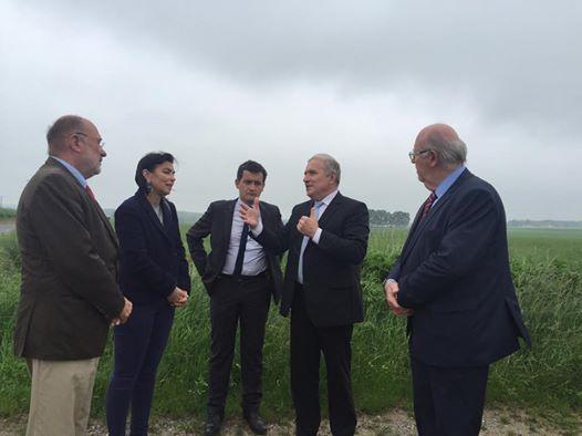 La Région s'engage pour le projet du canal Seine-Nord