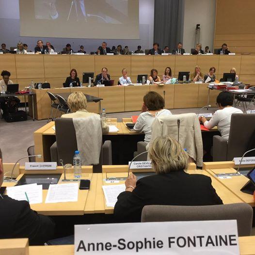 Session au Conseil Régional Hauts-de-France