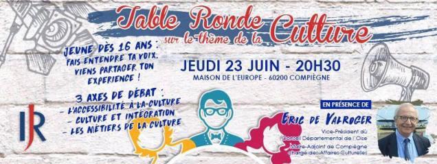 Table ronde sur la culture à Compiègne 3