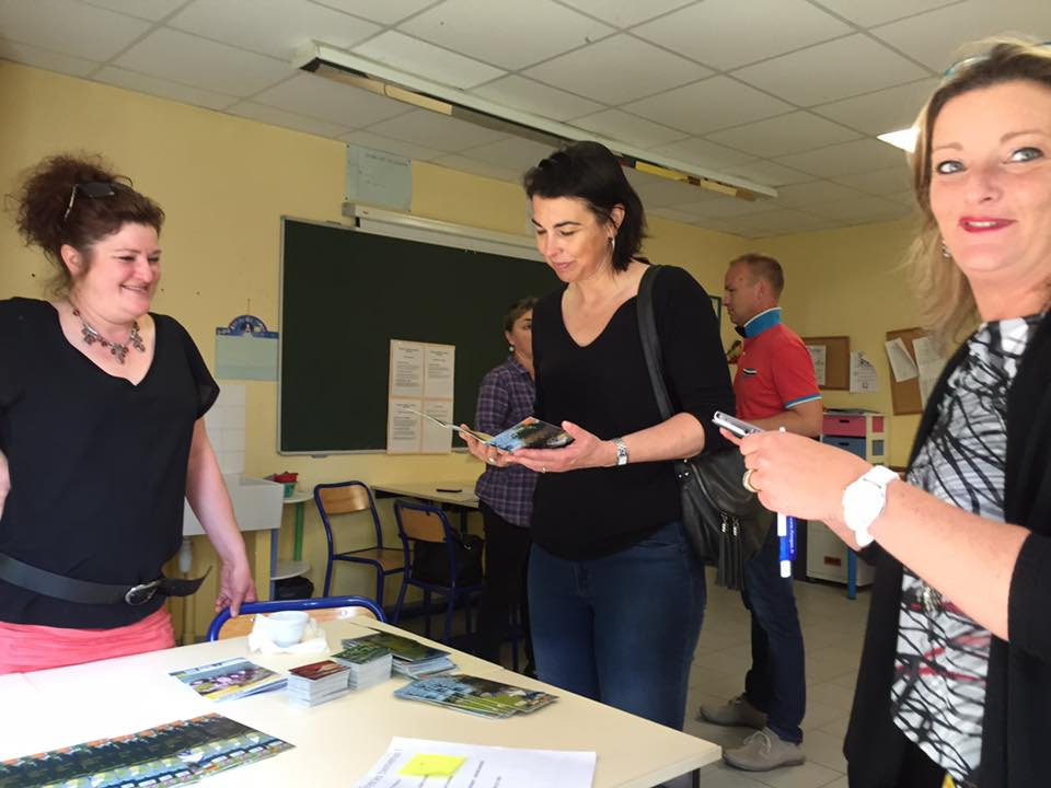 Visite au Lycée privée Julie Billiart 1