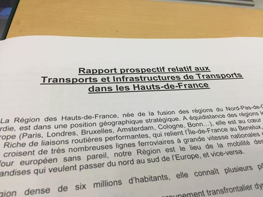 En session au Conseil Régional Hauts-de-France