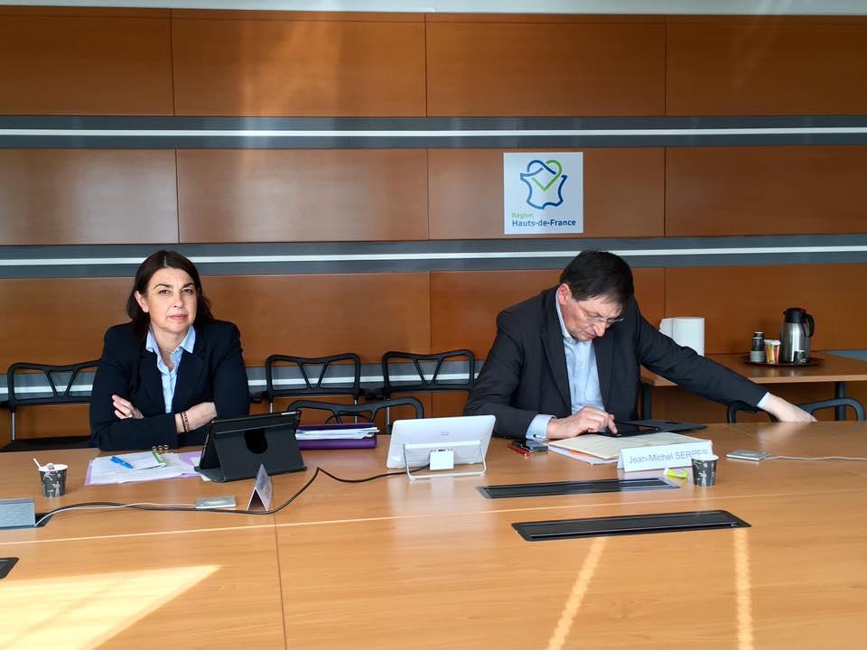 En commission des finances au Conseil Régional Hauts-de-France