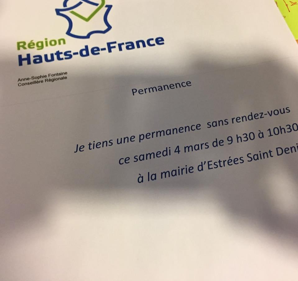 En permanence à Estrées-Saint-Denis 1