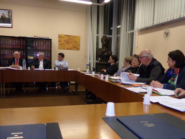 Conseil municipal de Maignelay-Montigny vote du budget 1