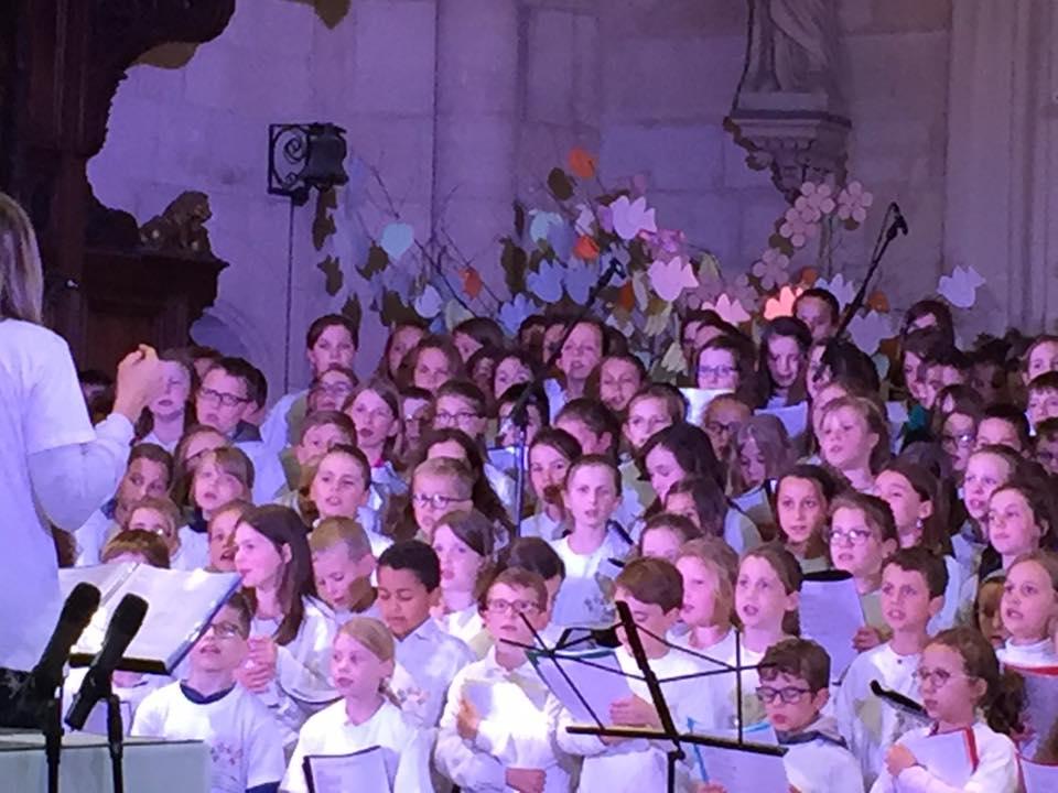 A la chorale de l'abbatiale Saint Pierre de Corbie 1