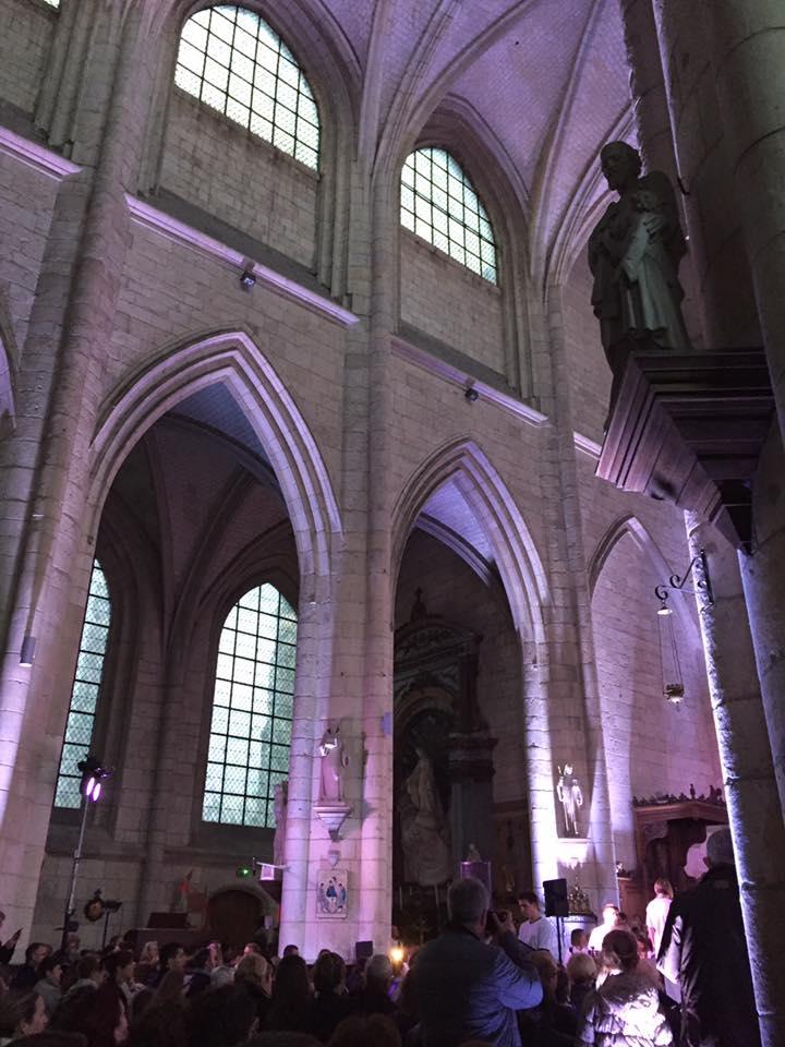 A la chorale de l'abbatiale Saint Pierre de Corbie 2