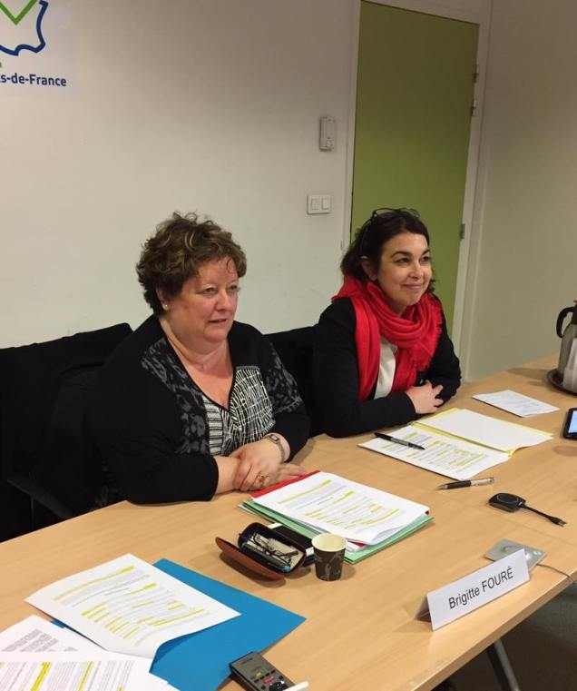 A la commission des Finances au Conseil Régional Hauts-de-France