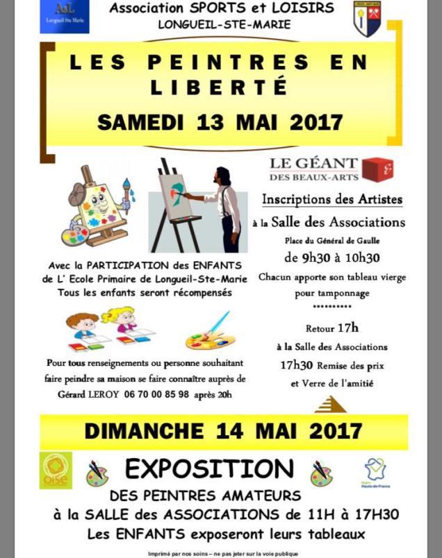 A l'événement Les Artistes en Liberté à Longueil-Sainte-Marie 4