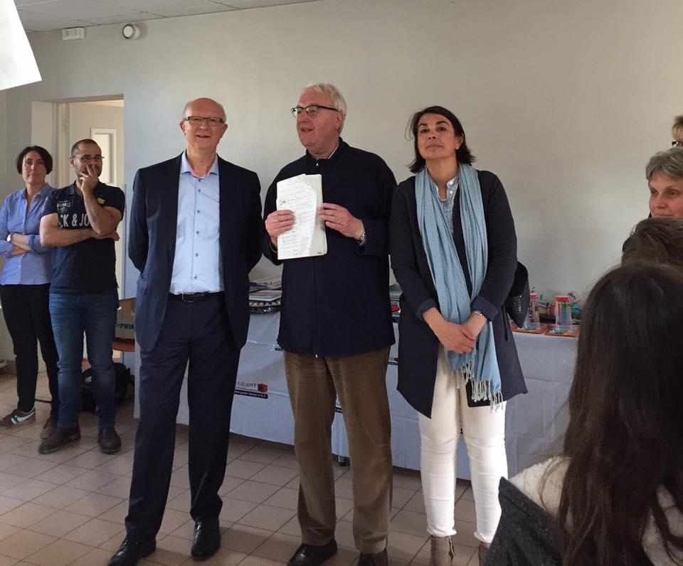 A l'événement Les Artistes en Liberté à Longueil-Sainte-Marie