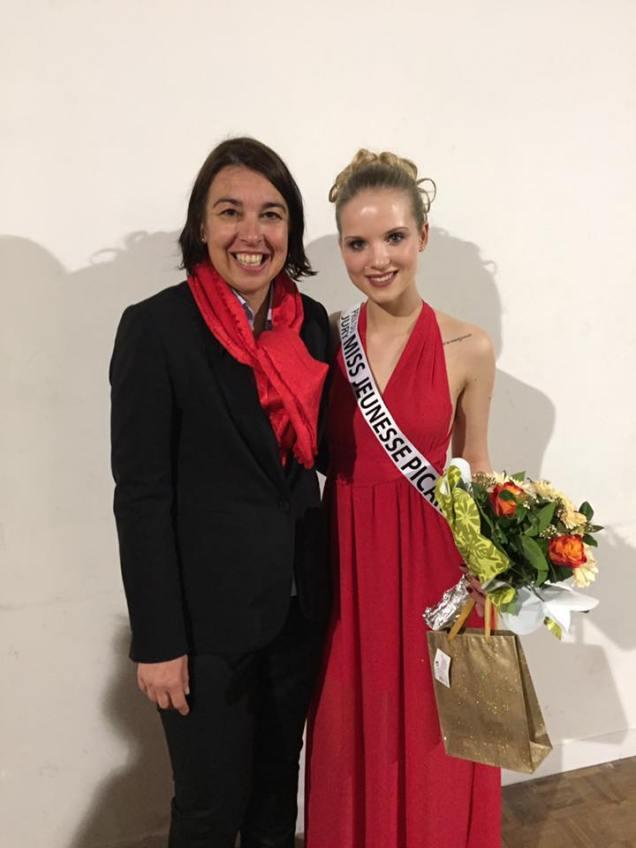 Au concours de Miss Jeunesse Oise