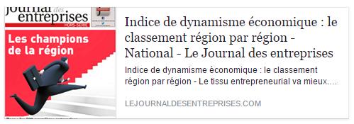 Economie Les Hauts-de-France en hausse !