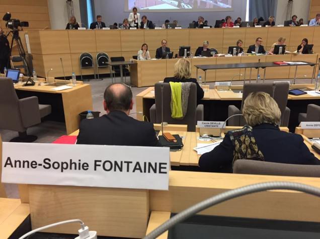 Réunion sur le logement au Conseil Régional Hauts-de-France 2