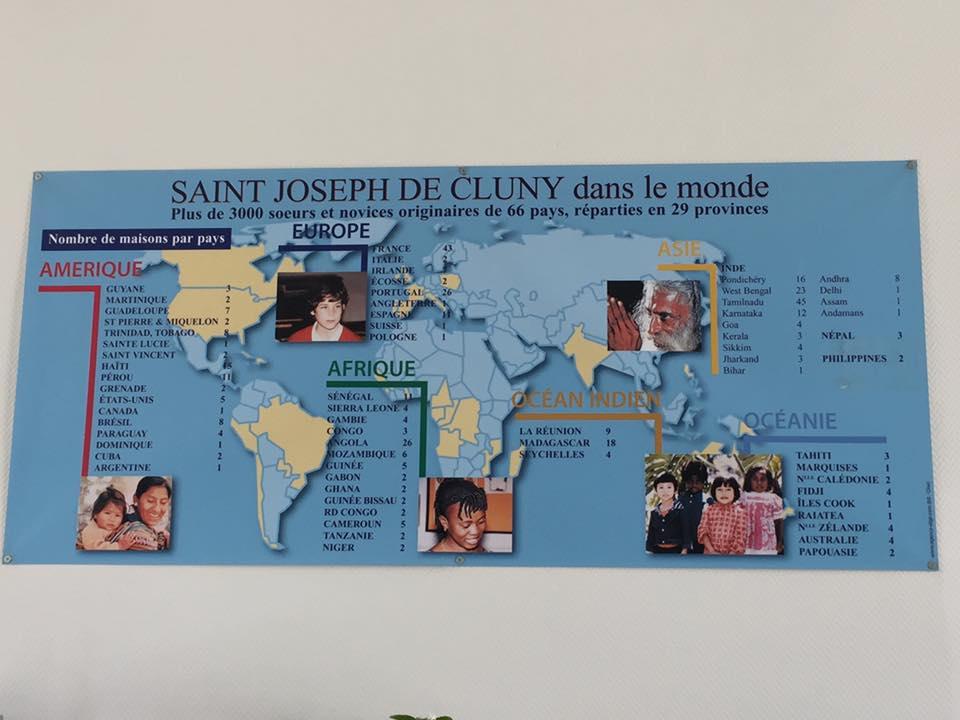 Visite du lycée privé Saint-Joseph de Cluny à Estrées-Saint-Denis 1