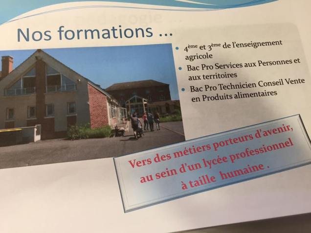 Visite du lycée privé Saint-Joseph de Cluny à Estrées-Saint-Denis