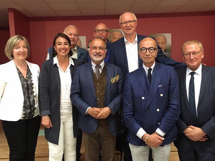 A la réunion publique d'Olivier Dassault à Tricot