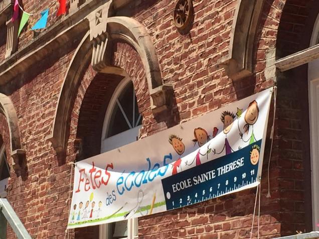 Au spectacle de fin d'année de l'école Sainte-Thérèse à Montdidier 1