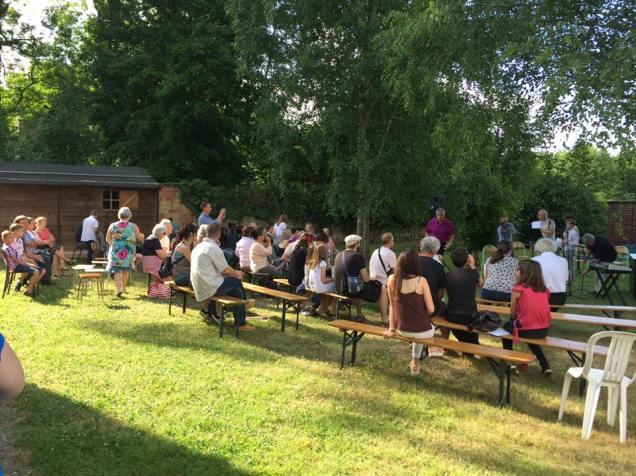 Au spectacle de l'école de musique de Maignelay-Montigny